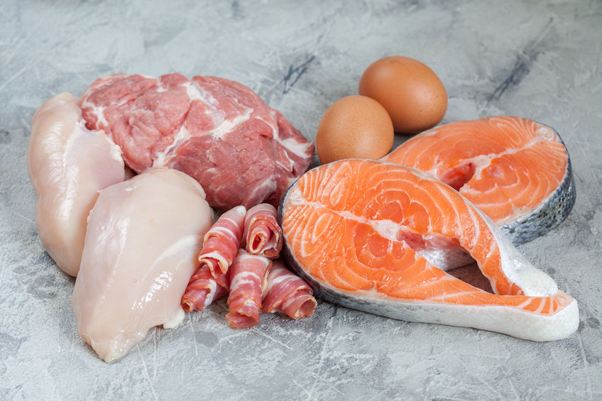 Image of assorted meats